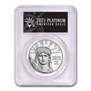 2021 1 oz American Platinum Eagle MS-70 PCGS (FS, Black Label)