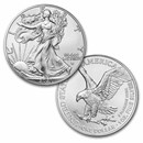 2021 1 oz American Silver Eagle Coin BU (Type 2)