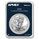 2021 1 oz American Silver Eagle (MintDirect® Single)