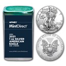 2021 1 oz American Silver Eagles (20-Coin MintDirect® Tube)
