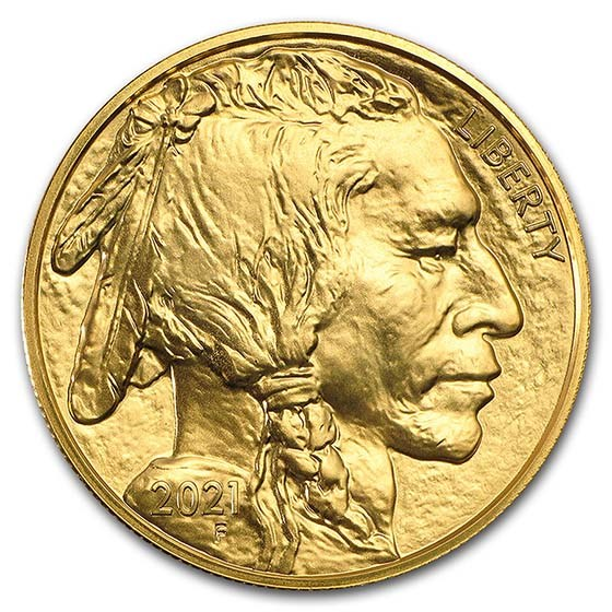 2021 1 oz Gold Buffalo BU