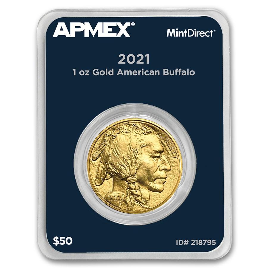 2021 1 oz Gold Buffalo (MintDirect® Single)