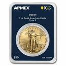 2021 1 oz Gold Eagle (Type 2) (MD® Premier + PCGS FirstStrike®)