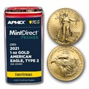 2021 1 oz Gold Eagles (Type 2) (MD® Premier + PCGS FS® Tube)