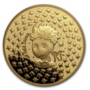 2021 1 oz Proof Gold €200 The Little Prince