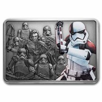 2021 1 oz Silver $2 Star Wars Guards of the Empire: Executioner