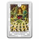 2021 1 oz Silver $2 Tarot Cards: The High Priestess