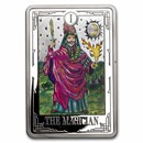 2021 1 oz Silver $2 Tarot Cards: The Magician