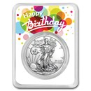 2021 1 oz Silver American Eagle - Birthday Surprise