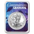 2021 1 oz Silver American Eagle - Graduation Party