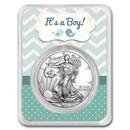 2021 1 oz Silver American Eagle - It's A Boy