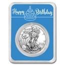 2021 1 oz Silver American Eagle - Royal Birthday
