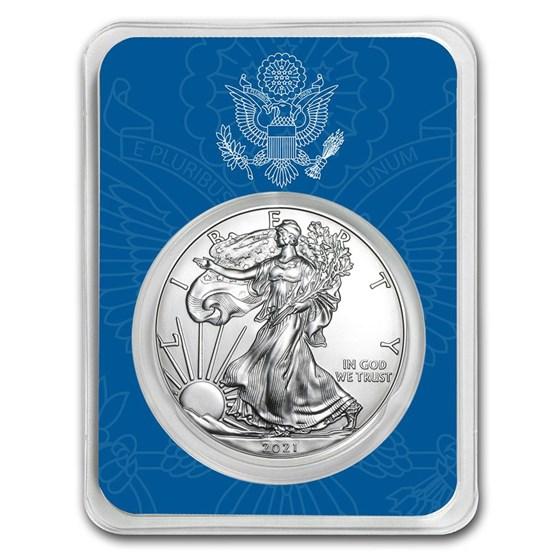 2021 1 oz Silver American Eagle - United States Seal