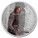 2021 1 oz Silver Coin $2 The Lord of the Rings: Aragorn
