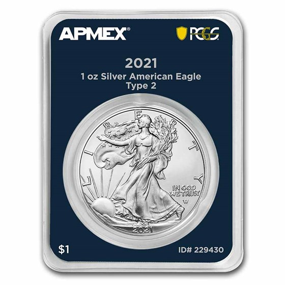 2021 1 oz Silver Eagle (MD Premier + PCGS FirstStrike®, Type 2)