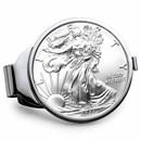2021 1 oz Silver Eagle Money Clip