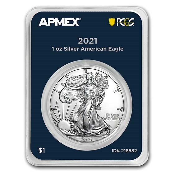2021 1 oz Silver Eagle (Type 1) (MD Premier + PCGS FirstStrike®)