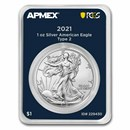 2021 1 oz Silver Eagle (Type 2) (MD Premier + PCGS FirstStrike®)