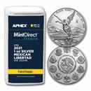2021 1 oz Silver Libertad (25-Coin MD Premier® Tube + PCGS FS®)