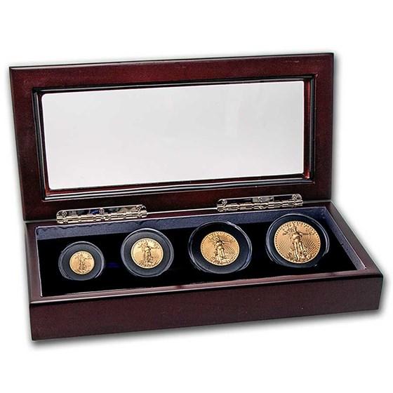 2021 4-Coin American Gold Eagle Coin Set BU (Type 1)