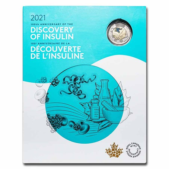 2021 7-Coin Canada The Discovery of Insulin Collector Keepsake