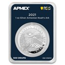 2021 Armenia 1 oz Silver Noah's Ark (MD® Premier + PCGS FS)