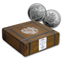 2021 Armenia 500-Coin 1 oz Silver Noah's Ark (Sealed Box)