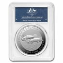 2021 AUS 1 oz Silver Fraser's Dolphin MS-70 PCGS (First Day)