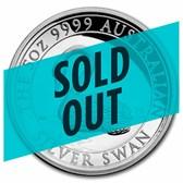 2021 AUS 5 oz Silver Swan Proof COA #8 (High Relief, w/Box & COA)