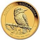 2021 Australia 1/10 oz Gold Kookaburra BU