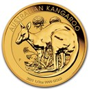 2021 Australia 1/2 oz Gold Kangaroo BU