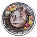 2021 Australia 1/2 oz Silver Dreaming Down Under Kangaroo Proof