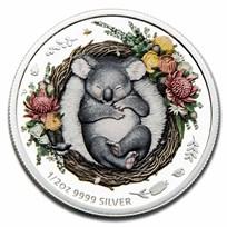 2021 Australia 1/2 oz Silver Dreaming Down Under Koala Proof