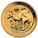 2021 Australia 1/4 oz Gold Kangaroo BU