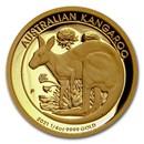 2021 Australia 1/4 oz Gold Kangaroo Proof