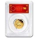2021 Australia 1/4 oz Gold Lunar Ox MS-70 PCGS (FS, Red Label)