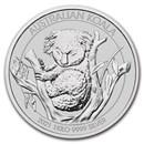 2021 Australia 1 kilo Silver Koala BU