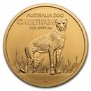 2021 Australia 1 oz Gold $100 Cheetah BU (w/Box & COA)