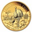 2021 Australia 1 oz Gold Emu BU