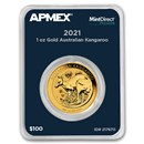 2021 Australia 1 oz Gold Kangaroo (MintDirect® Premier Single)