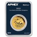 2021 Australia 1 oz Gold Kangaroo (MintDirect® Single)
