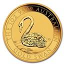 2021 Australia 1 oz Gold Swan BU