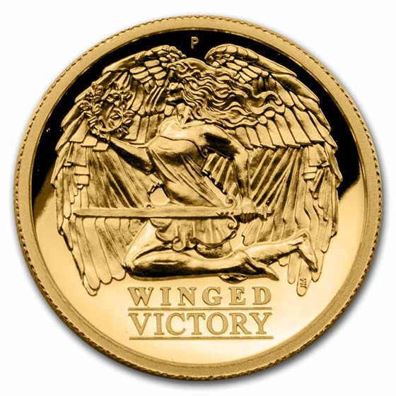 2021 Australia 1 oz Gold Winged Victory High Relief Proof