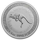 2021 Australia 1 oz Platinum Kangaroo BU