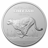 2021 Australia 1 oz Silver $1 Australian Zoo: Cheetah BU