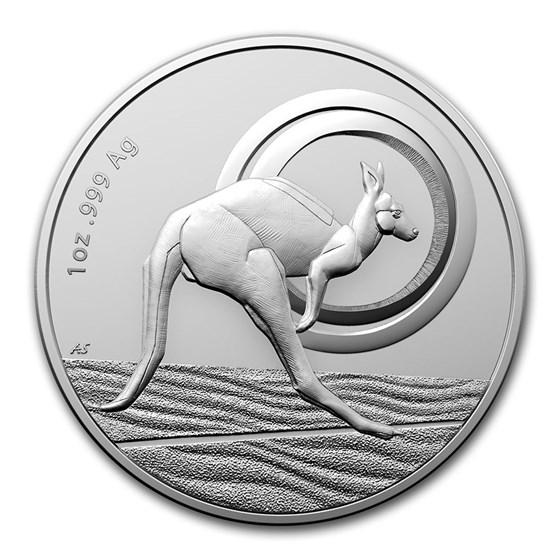 2021 Australia 1 oz Silver $1 Kangaroo: Outback Majesty (BU)