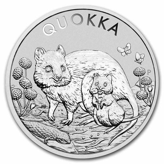 2021 Australia 1 oz Silver Australian Quokka BU