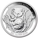 2021 Australia 1 oz Silver Koala BU
