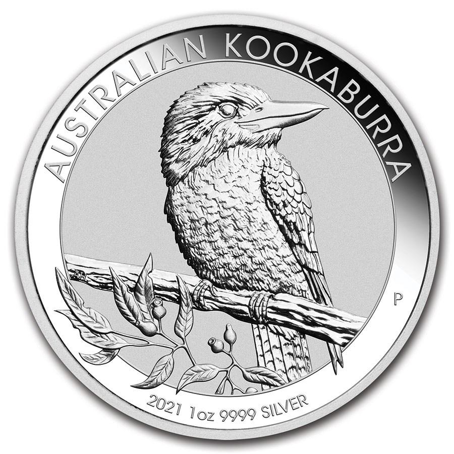 2021 Australia 1 oz Silver Kookaburra BU