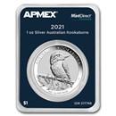 2021 Australia 1 oz Silver Kookaburra (MintDirect® Premier)